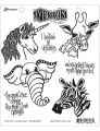 I Believe In Unicorns - Dyan Reaveley's Dylusions Cling Stamp