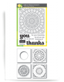 Thankful Mandala incl. Stencilset
