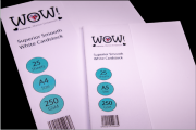 A4 - WOW! Superior Smooth White Cardstock