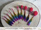 Rainbow Craft Blender Brushes - Mennys Bastelshop