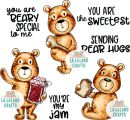 Beary Special - Rubber Stamp