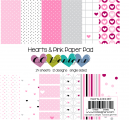 Hearts & Pink - Paper Pad
