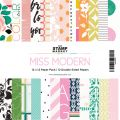 Miss Modern 12×12 Paper Pack