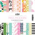 Miss Modern 6×6 Paper Pack