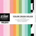 Color Crush Solids - 6×6 Paper Pack