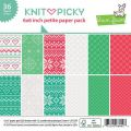 Knit Picky Petite Paper Pack 6x6