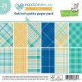 Perfectly Plaid Chill Petite Paper Pack 6x6