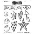 Star Struck - Dyan Reaveley's Dylusions Cling Stamp