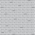 Love Is Love - Hero Arts Cling Stamps